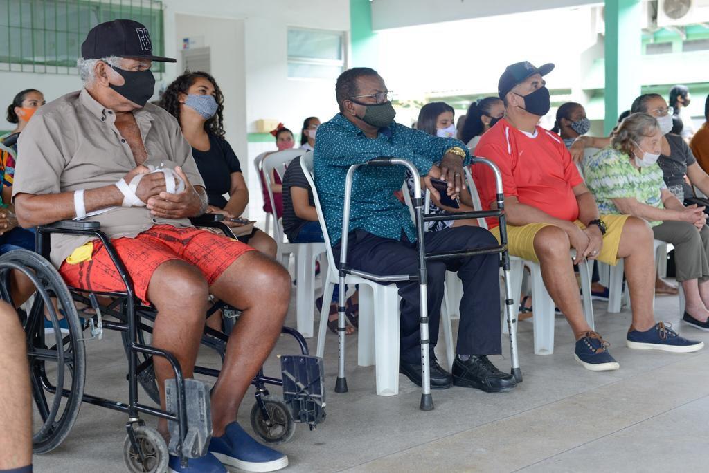 O município está concluindo uma licitação que irá fornecer órteses e próteses, além de cadeiras de rodas, bengalas, andadores e muletas para pessoas com deficiência. (Agnaldo Silva/Secom Ipojuca)