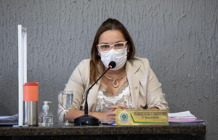 Vereadora do município de Afogados da Ingazeira, Gal Mariano (PDT) (Foto: Divulgação)