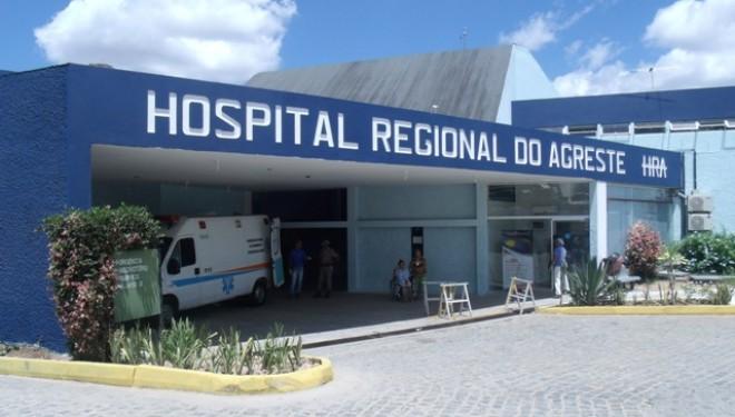 A mulher foi levada para o Hospital Regional do Agreste e ainda não tivemos atualização sobre o estado de saúde dela e do bebê. (Foto: SES-PE/ Divulgação)