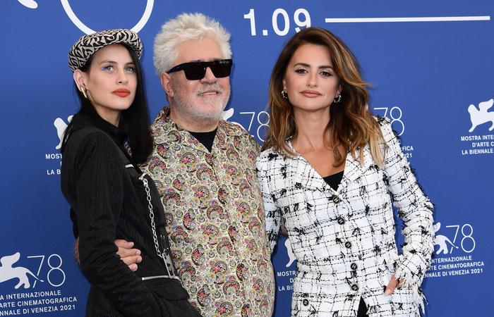 'Madres Paralelas', novo filme do diretor espanhol Almodóvar, abre o Festival desde ano (Foto: Miguel Medina/AFP)