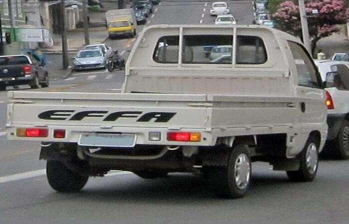 Carros do tipo picape ou furgão, destinados ao trabalho, tem a possiblidade de receber 30% de desconto na compra (Foto: Wikimedia Commons)