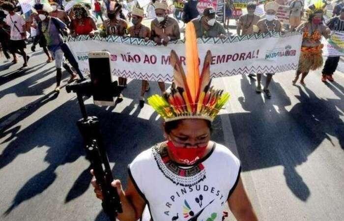 Marco temporal deve começar a ser votado pelo STF na próxima semana (Foto: Carlos Vieira/CB/D.A Press)