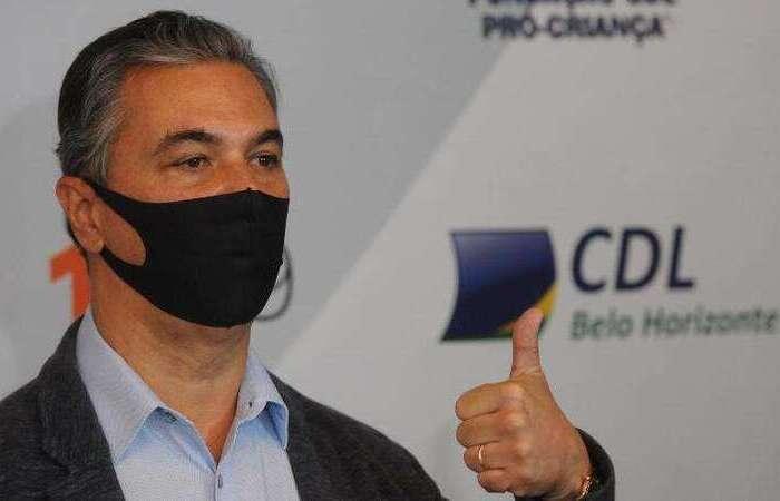 Presidente da Abrasel, Paulo Solmucci, reforça necessidade de economia de energia (Foto: 16/07/2020 - Leandro Couri/EM/D.A Press)