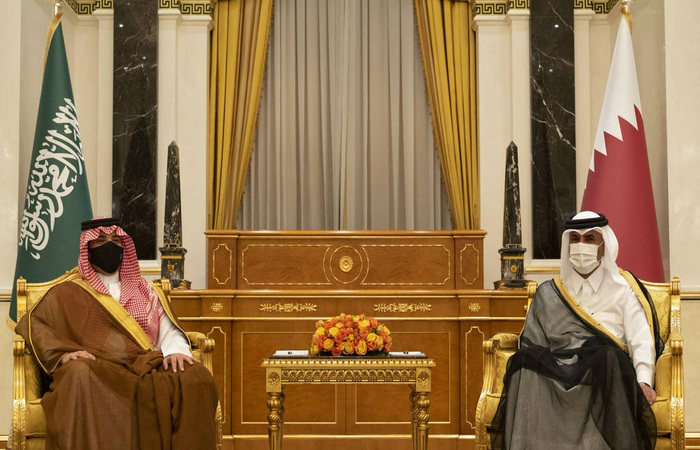 (HO / Qatar News Agency / AFP)