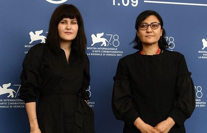 As diretoras Sahraa Karimi e Sahra Mani relataram fuga do país e relataram risco cultural ao país (Foto: Filippo Monteforte/AFP)