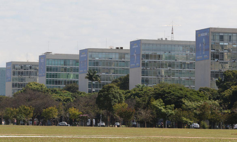 (PM fará linhas de revistas pessoais e bloqueios em vias da Esplanada. Foto: Fabio Rodrigues Pozzebom/Agência Brasil)