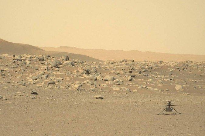 (Foto: Handout / JPL / Caltech / NASA / AFP)