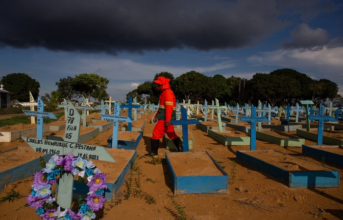 (Foto: Michael Dantas/AFP )