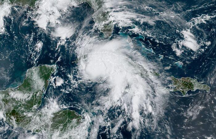 (Foto: Jose ROMERO / RAMMB/NOAA/NESDIS / AFP )
