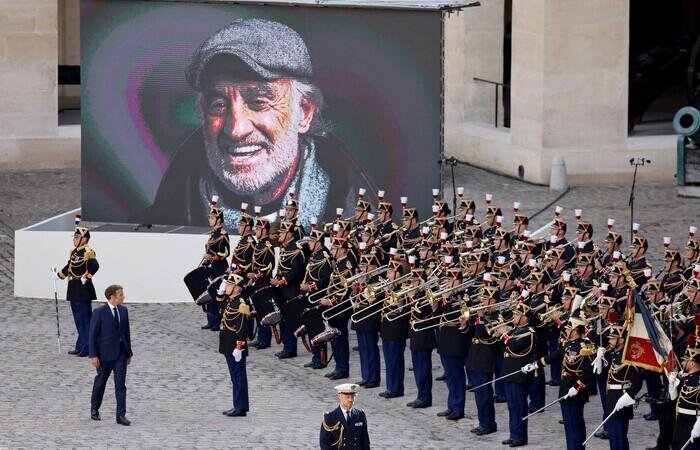 O célebre ator francês, protagonista de 'Acossado' (1960), faleceu na última segunda (6) (Foto: Ludovic Marin/AFP)