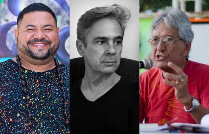 Everson Melquíades, Fernando Azevedo e Marcelo Mário de Melo (Foto: Divulgação)