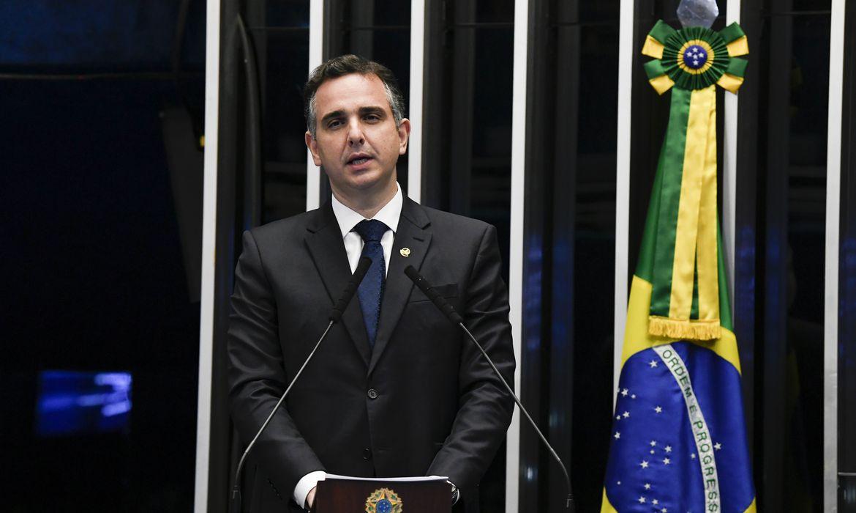 (Parlamentar, que integra a Comissão de Transparência das Eleições, defende o nome do presidente do Senado como terceira via ao Planalto. Foto: Jefferson Rudy/Agência Senado)
