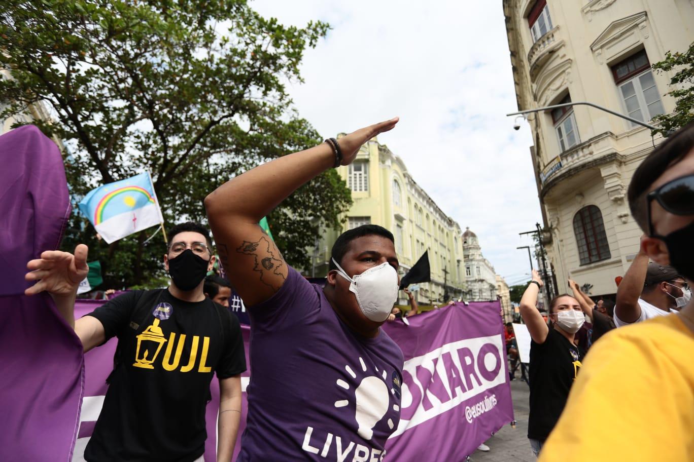 Coordenador do Livres reiterou a necessidade dos setores políticos unirem forças pela manutenção da democracia. (Arnaldo Sete/Esp. DP Foto)