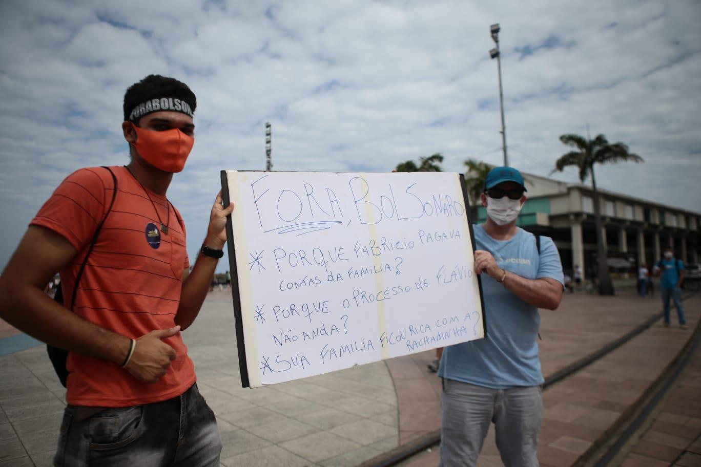 Além do MBL, Livres e UJS, seis organizações e três partidos políticos haviam confirmado a participação no protesto deste domingo. (Arnaldo Sete/Esp. DP Foto)