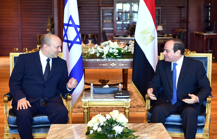 (Foto: Egyptian Presidency/AFP)