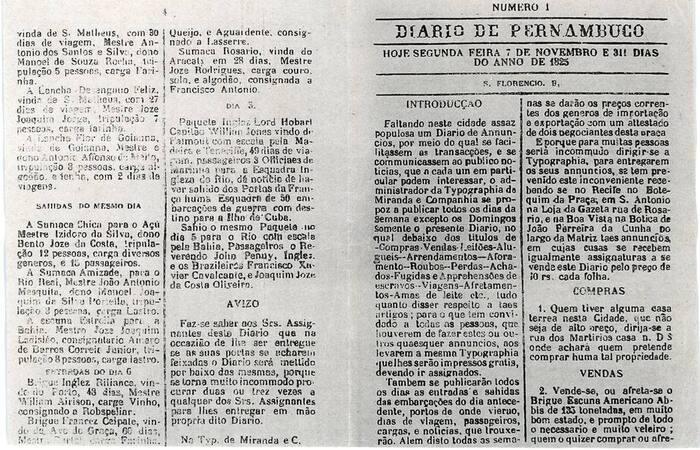 (Jornal mais antigo em circulação na América Latina foi criado em 1825)