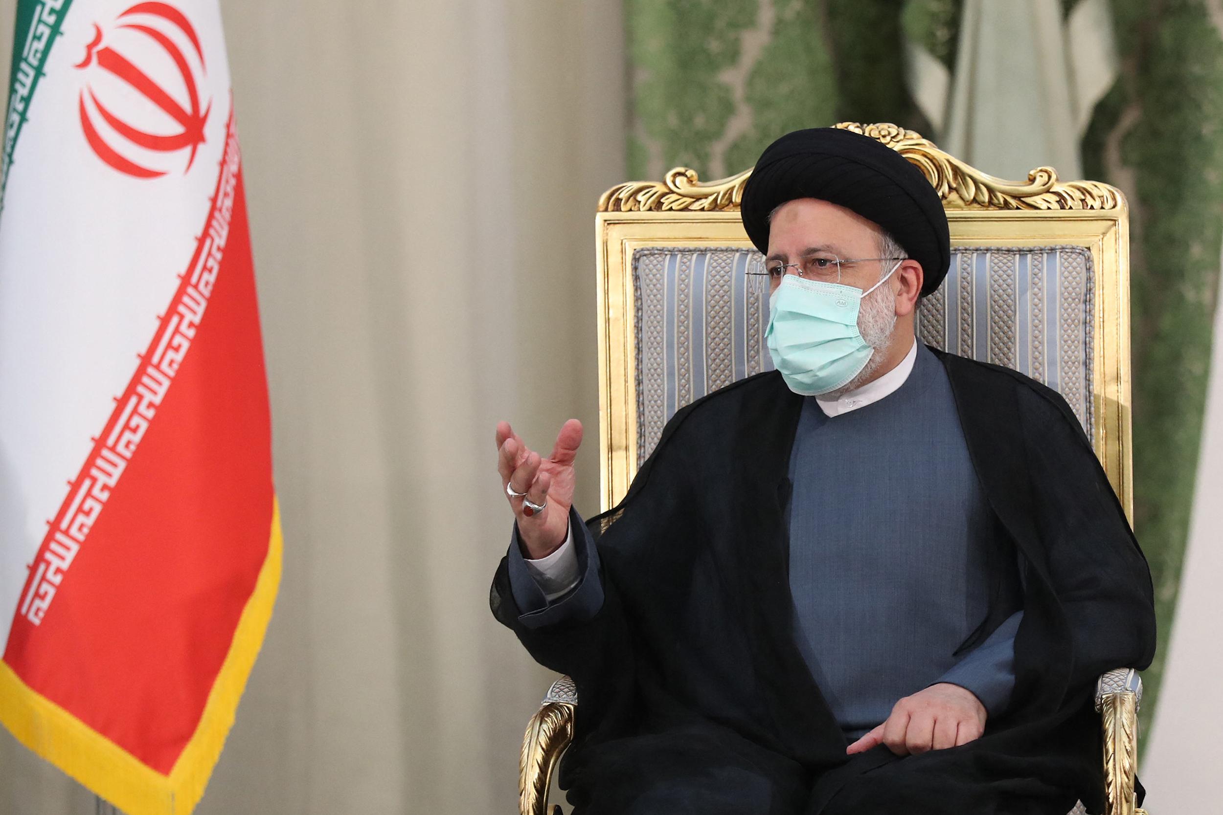 Ebrahim Raisi, presidente ultraconservador do Irã (Foto: Presidência iraniana / AFP)