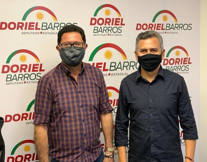 Arimateia e Doriel Barros (Divulgação)