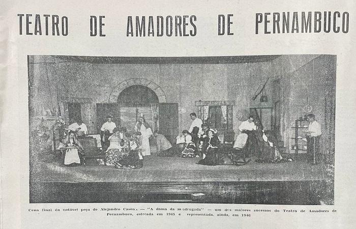 Exposição faz passeio pela história do teatro do Recife (Thais Mendonça/Fundaj)