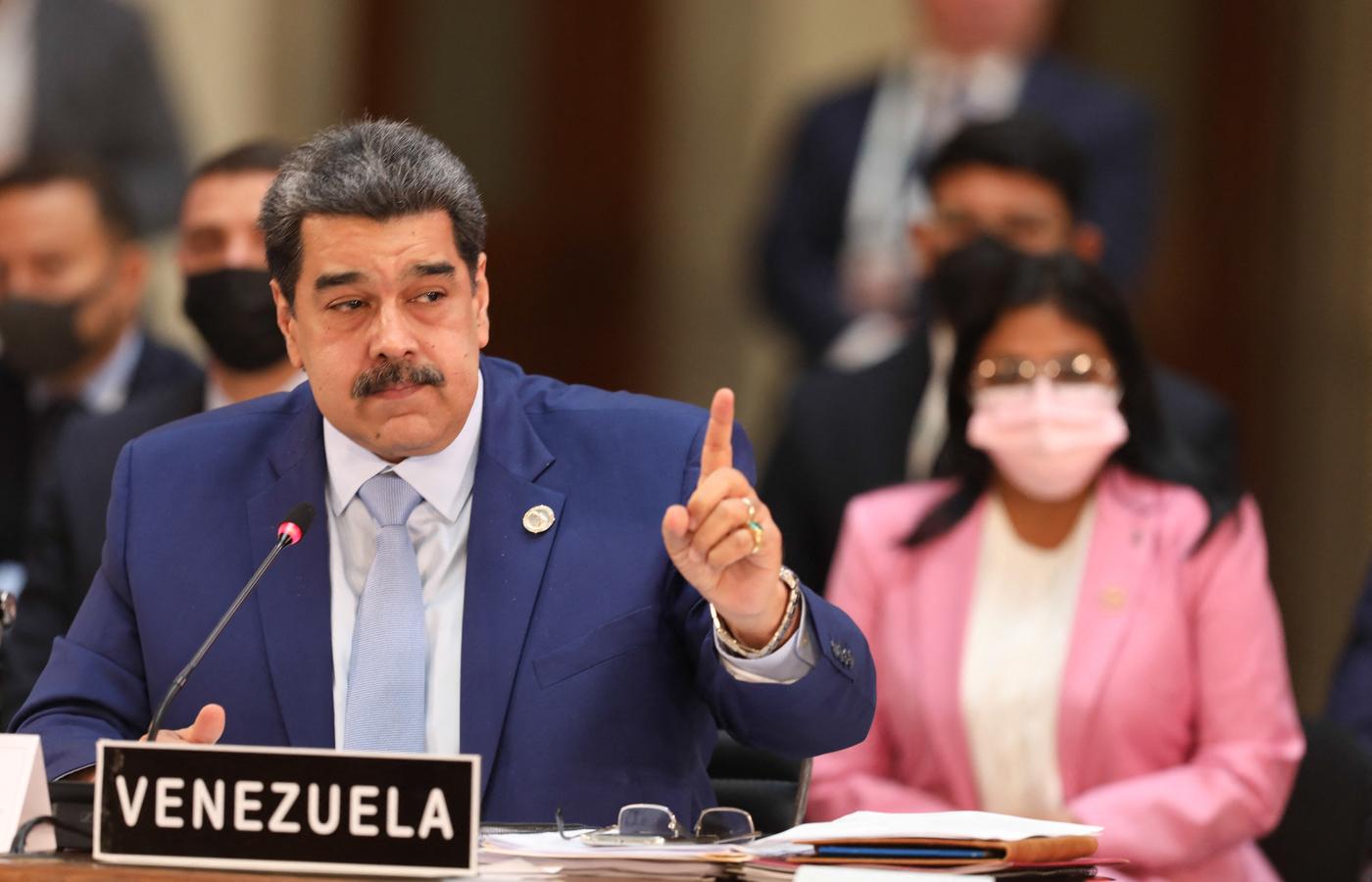 (Foto: HANDOUT / VENEZUELAN PRESIDENCY / AFP)