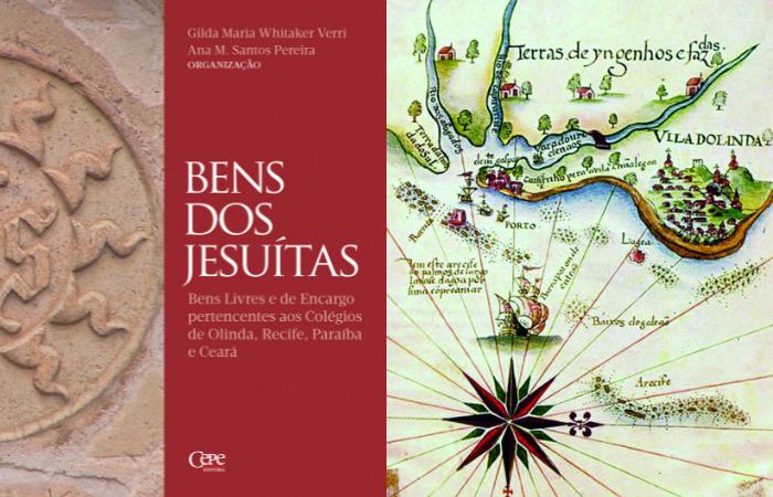 Capa do livro e Atlas histórico e cartográfico do Recife (Foto: Cepe/Divulgação)