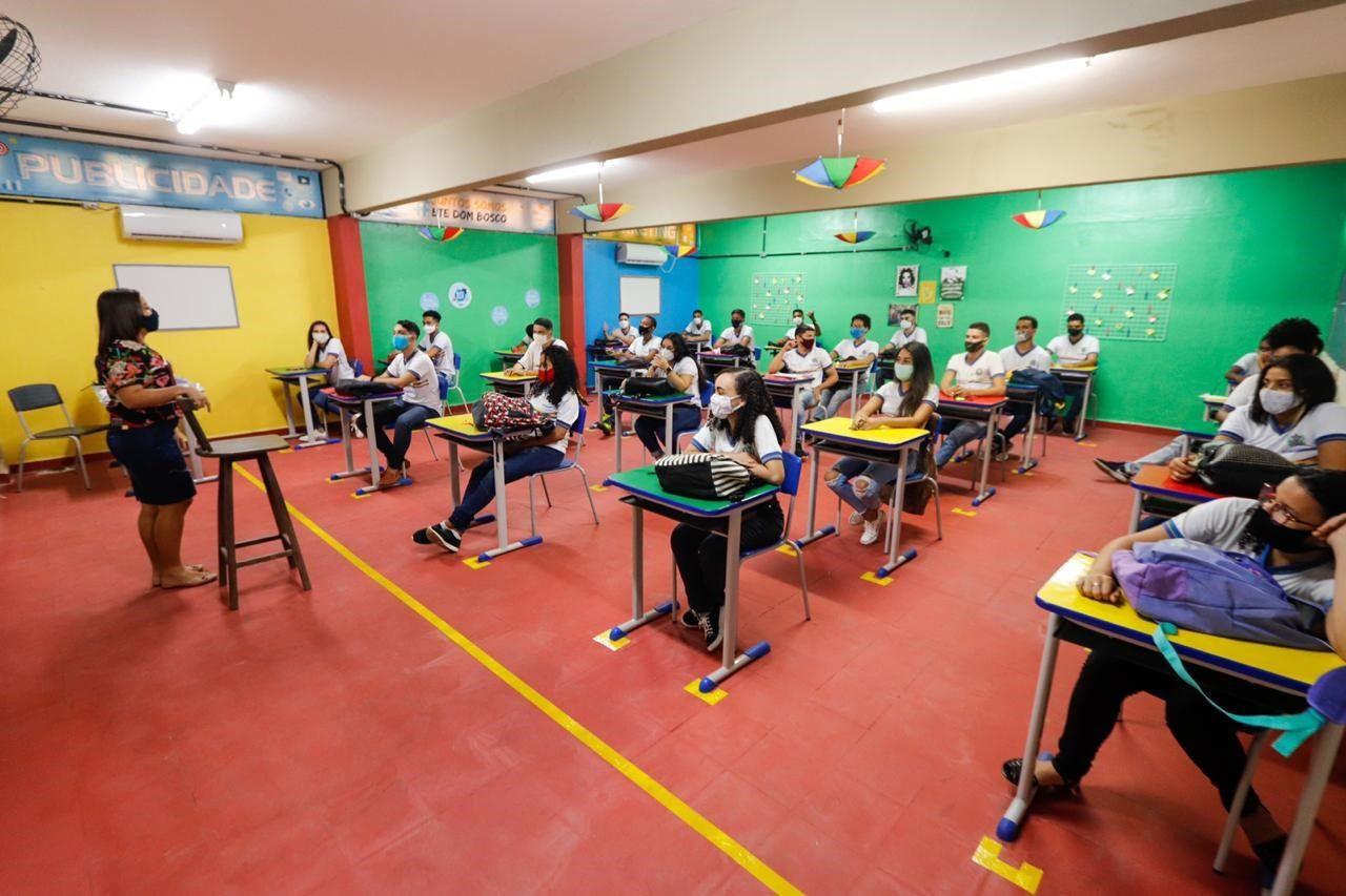 Os candidatos selecionados para o PE no Campus receberão uma bolsa de apoio à permanência.  (Kleyvson Santos/SEE)