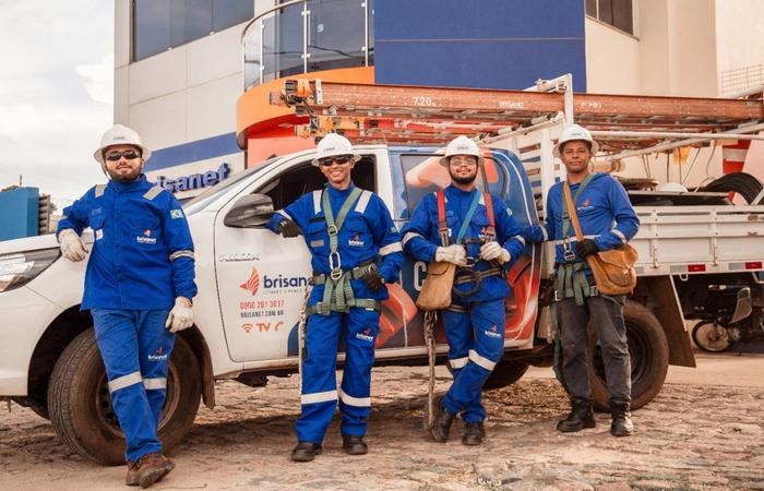No total, a empresa está contratando mais de 600 profissionais em todo o Nordeste  (Foto: Brisanet/Divulgação)