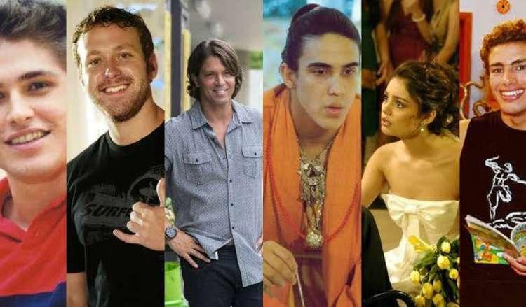 Malhação impulsionou o surgimento de vários atores da TV Globo (Foto: Divulgação/TV Globo/Montagem)