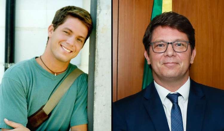 Mário Frias, Secretário de Cultura de Bolsonaro, já atuou em Malhação (Foto: Divulgação/Montagem)