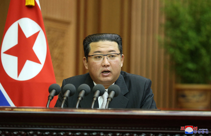 (Foto: STR/KCNA via KNS/AFP )