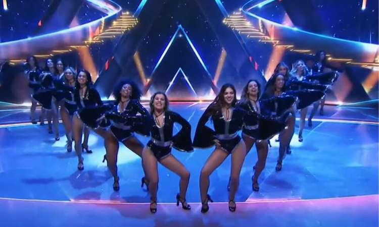 (Bailarinas estreiam novo palco de Faustão. Foto: Reprodução/YouTube)