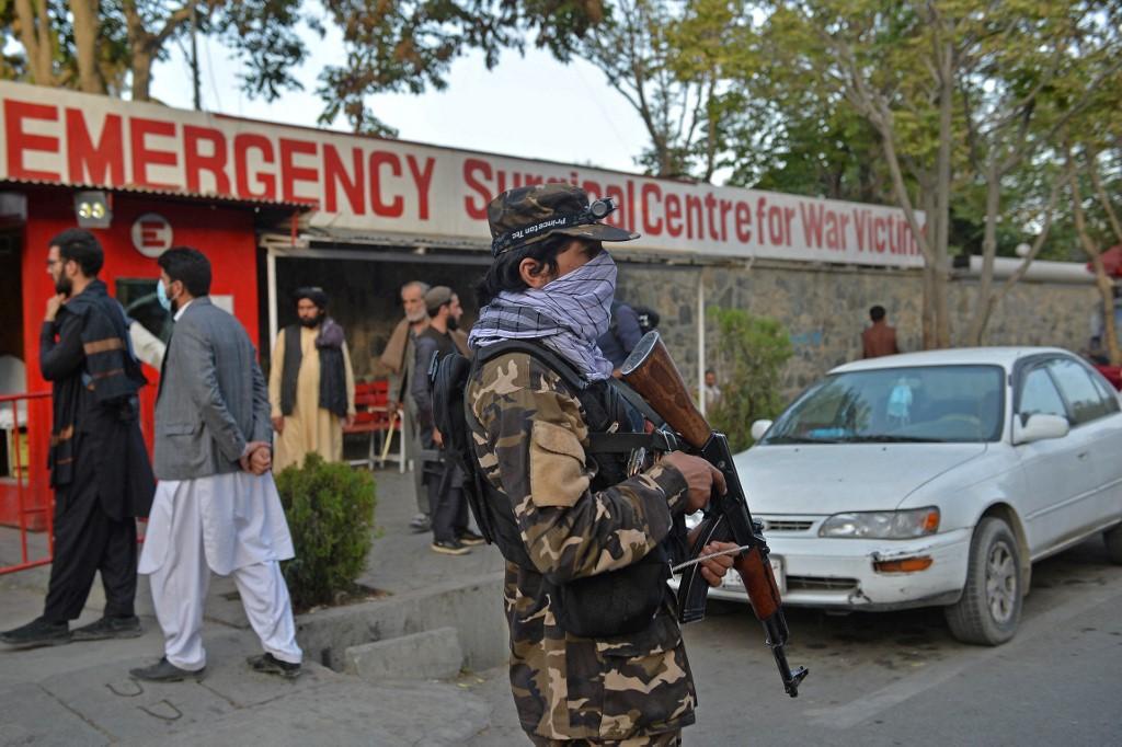 (Foto: Hoshang Hashimi / AFP)