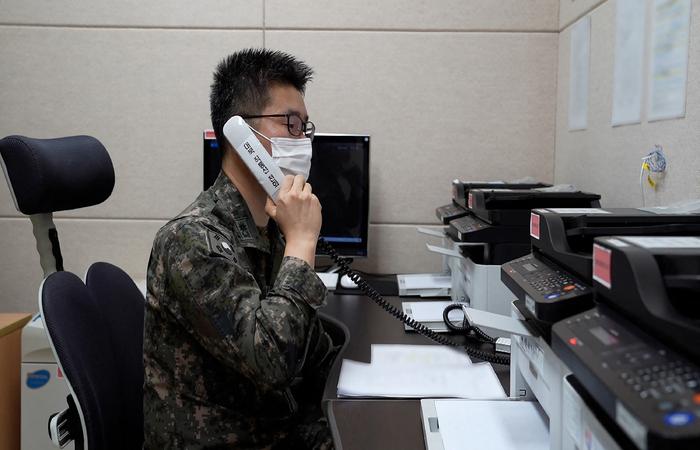 (Foto: Handout/South Korean Defence Ministry /AFP  )