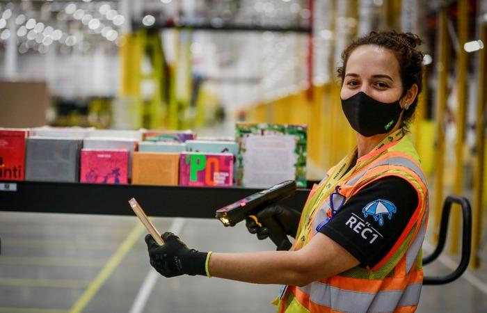 O décimo primeiro centro da empresa no Brasil empregará cerca de 860 pessoas, direta e indiretamente  (Foto: Amazon/Divulgação)