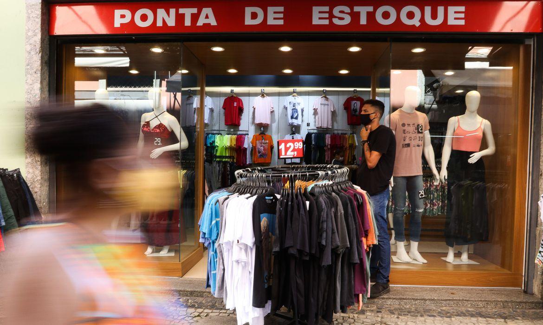 (Comércio foi o setor que mais criou vagas de emprego formal. Foto: Tânia Rêgo/Agência Brasil )