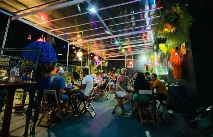 O bar cultural fica no antigo espaço do Miami Pub, que estava sendo usado como Delivery da Metrópole (Foto: Divulgação)