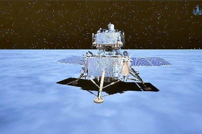 (Foto: Agência Espacial Nacional da China/Divulgação - 1/12/20)