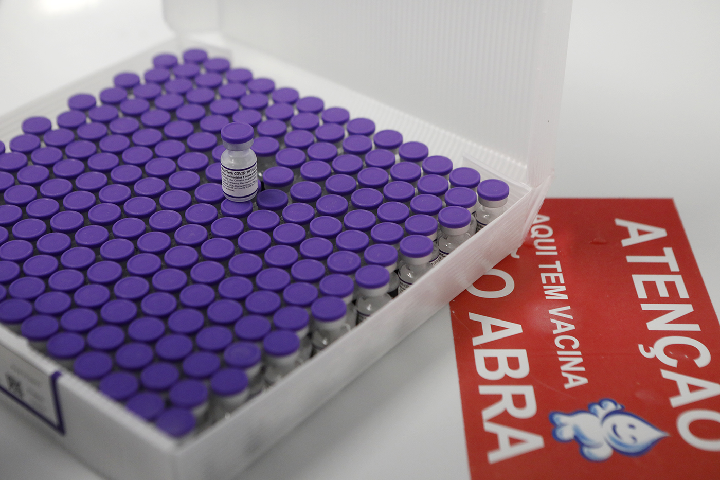 Nova remessa será utilizada para iniciar imunização da população em geral e para aplicação de segundas doses. (Hélia Scheppa/Arquivo/SEI)