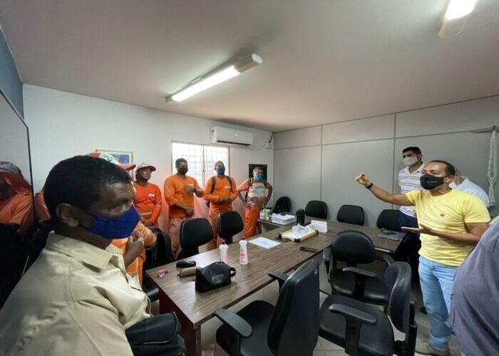 (A ação vai contar, ainda, com o trabalho de conscientização com os moradores da área. Foto: Secretaria de Comunicação de Olinda)