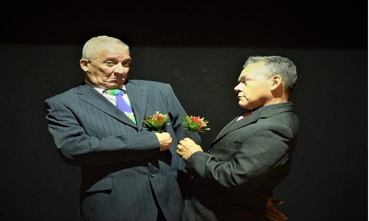 A peça estreou dentro da programação do 26º Festival Janeiro de Grandes Espetáculos (Pedro Portugal/Divulgação)