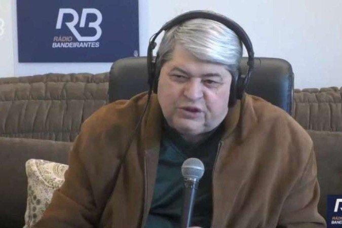 (Apresentador, que está prestes a se tornar candidato para as eleições de 2022, garantiu que não deixará emissora. Foto: Reprodução/Youtube)