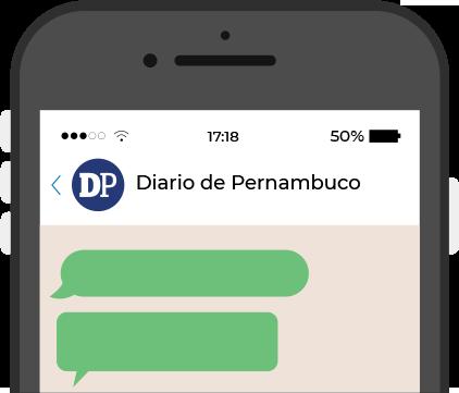 Cadastre-se no WhatsApp do DP
