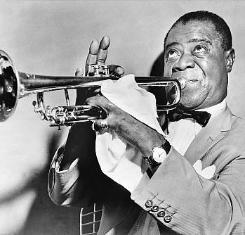 Louis Armstrong (REPRODUCAO DA INTERNET/REDHOTJAZZ.COM)