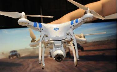 Drones e balões aerostáticos: vale tudo para acessar a internet  (AFP/Arquivos/Robyn Beck)