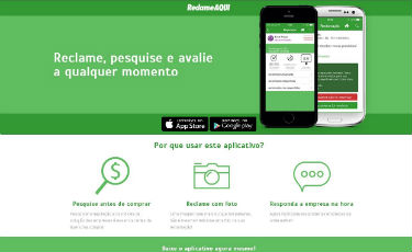 ReclameAqui ganha aplicativo e ultrapassa os 100 mil downloads (Reprodução de tela/ReclameAqui)